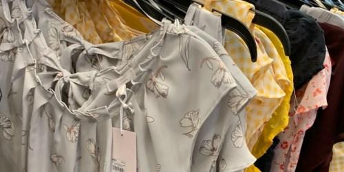 Over 55% Off LC Lauren Conrad Women's Tops & Dresses + Free Shipping for Kohl's Cardholders