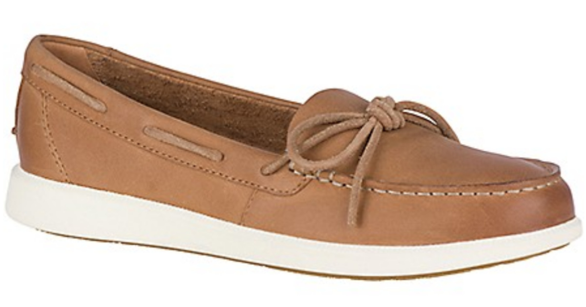brown Women's Oasis Canal Boat Shoe Sperry