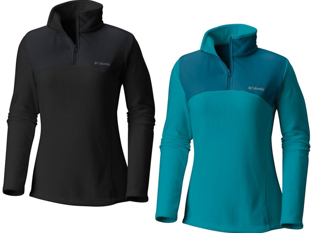black and blue women's pullovers