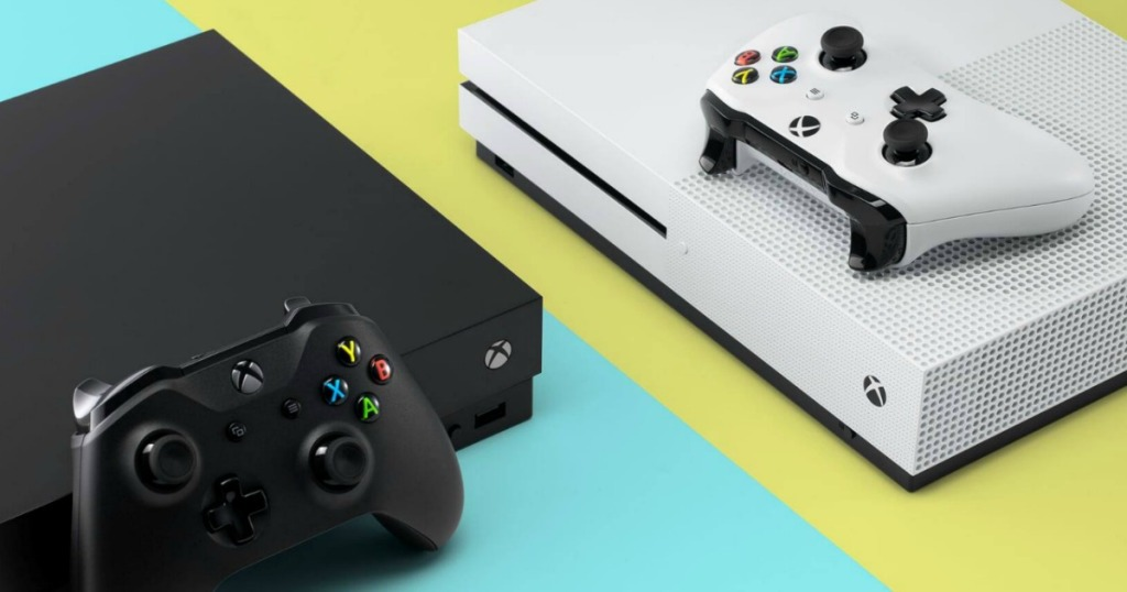 Xbox in both white and black