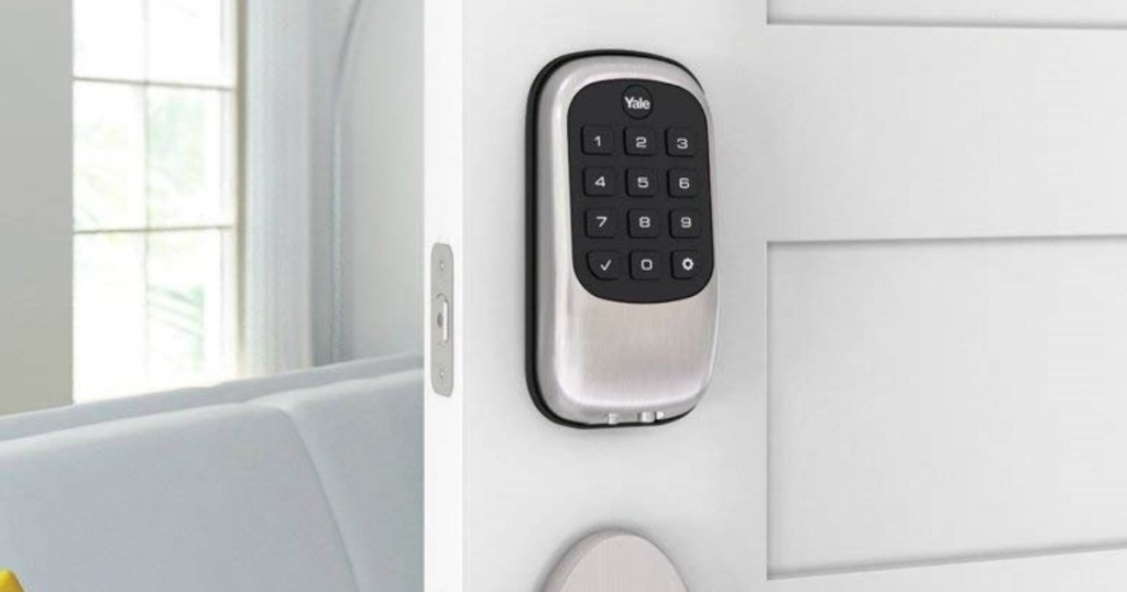 Yale Push Button Door Security Bolt Lock Only $78 Shipped (Regularly