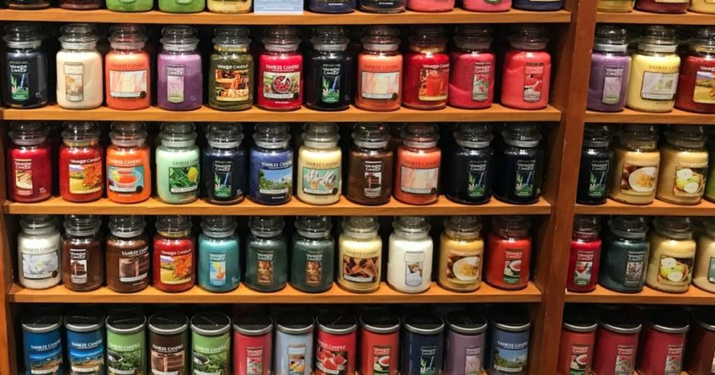 large jar yankee candles