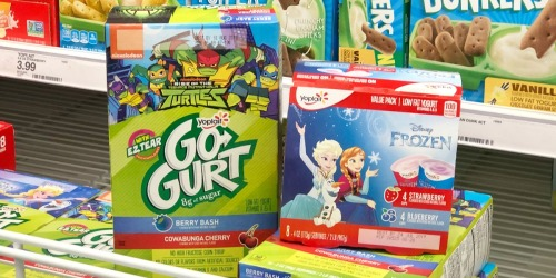 New Yoplait Yogurt Coupon = Disney Frozen Yogurt 8-Packs Only 66¢ at Target