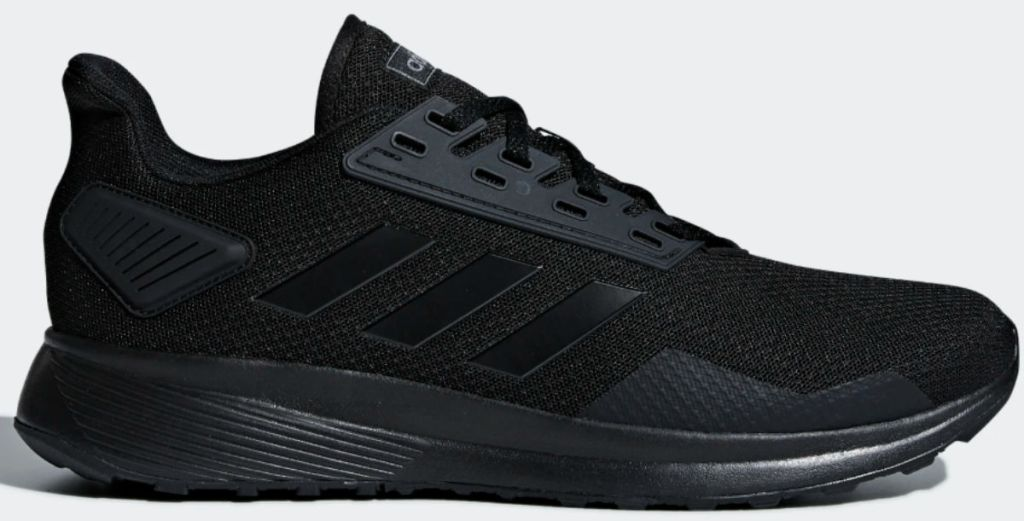 all black adidas Duramo 9 Shoes