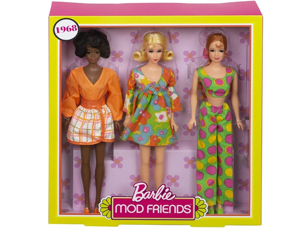 Barbie MOD Friends Collectors edition 1968