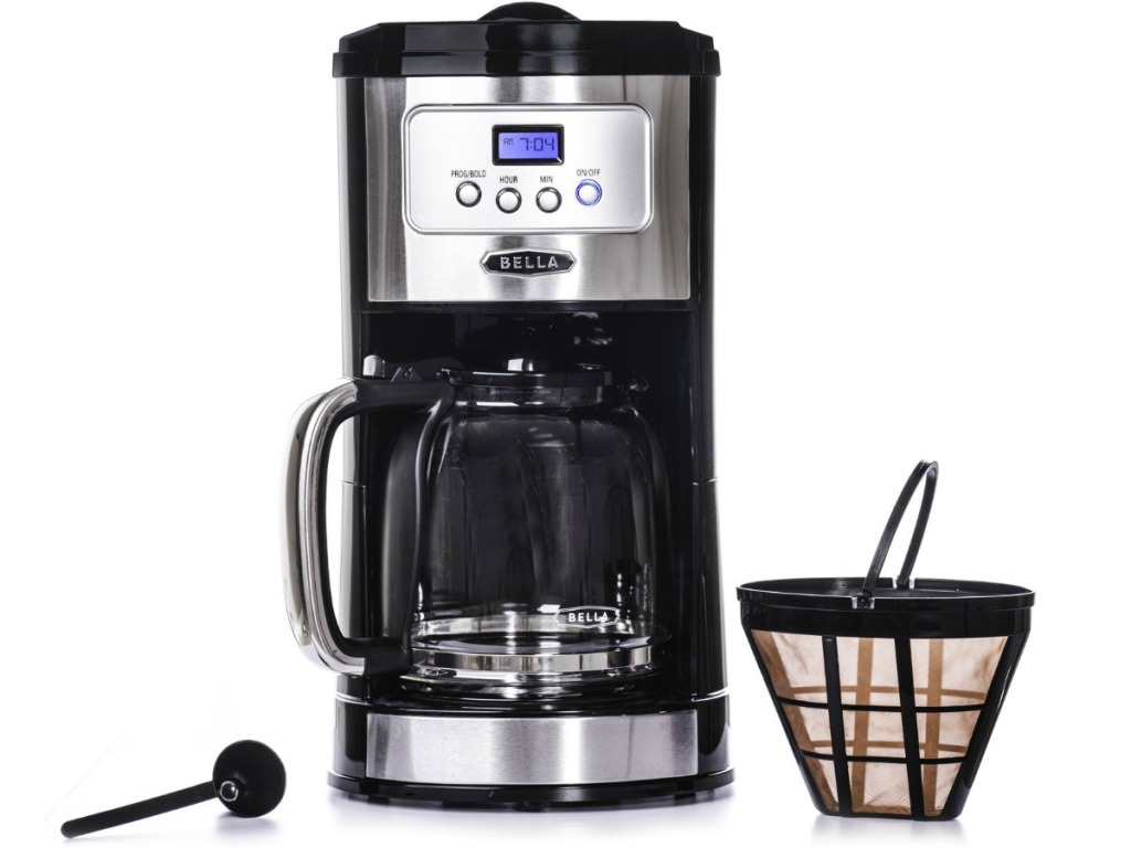 Bella Coffee Maker with accessories