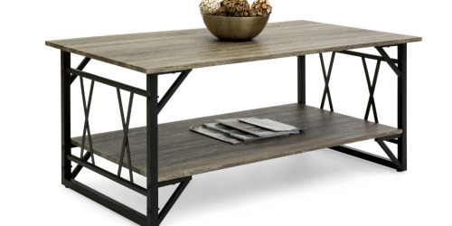 Best Choice Products Wooden Coffee Table Only $84.99 Shipped (Regularly $184) + More