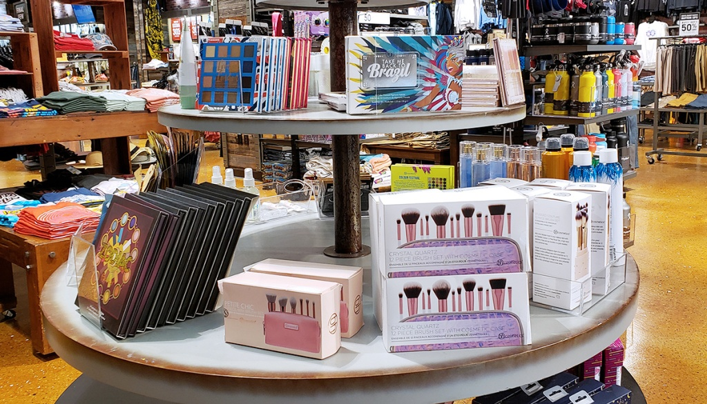 assortment of bh cosmetics at tilly's
