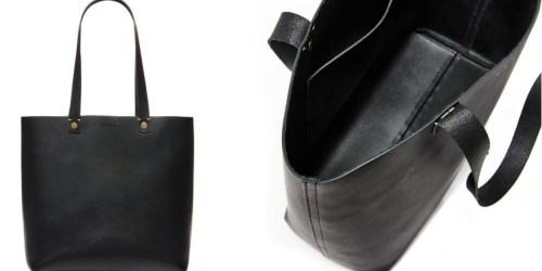 30% Off Black Leather Bag