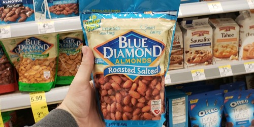 Blue Diamond Almonds 16-Ounce Bags as Low as $5.99 on Amazon