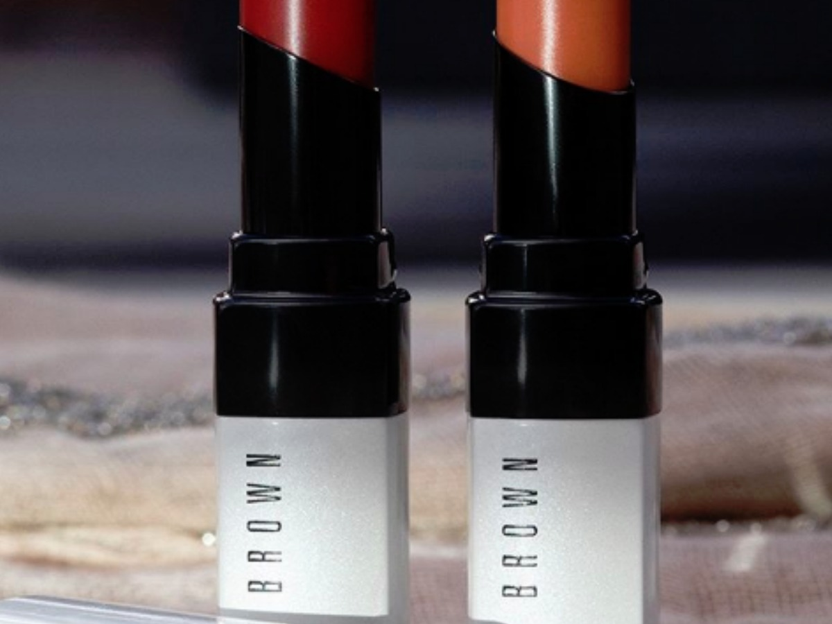 bobbi brown lipsticks with open tops