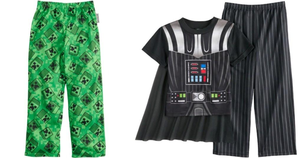 boy's sleep pants and pajamas