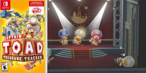 Captain Toad: Treasure Tracker – Nintendo Switch Only $27.50 (Regularly $40)