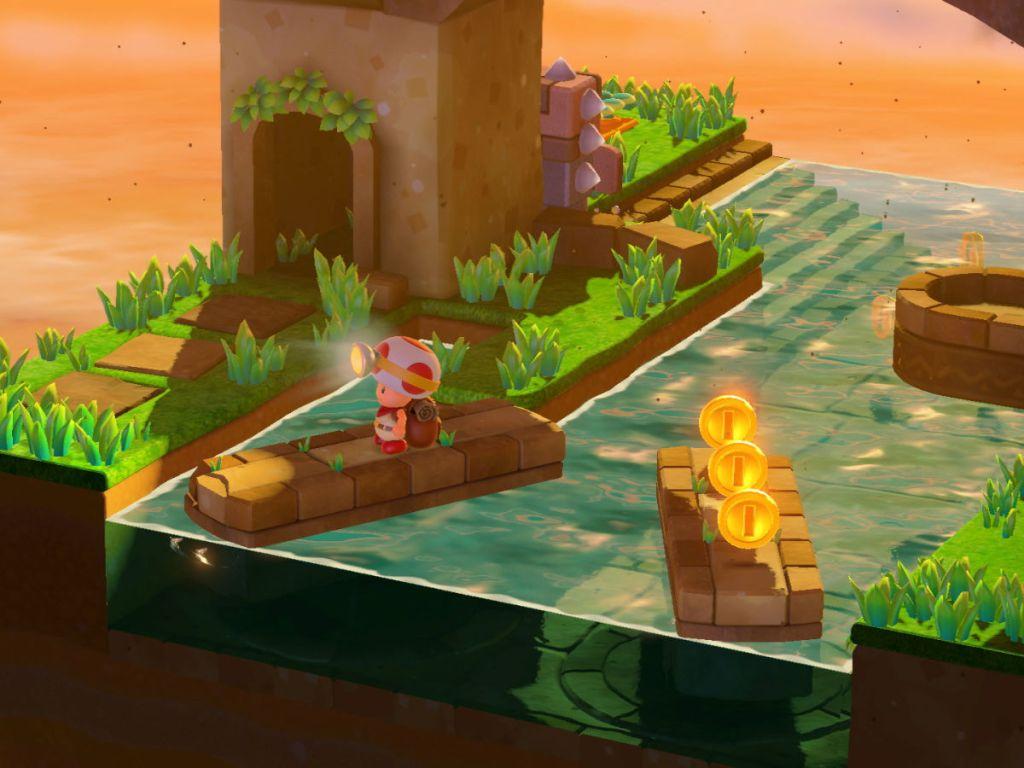 Captain Toad: Treasure Tracker game play screen grab