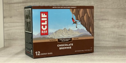 Amazon: CLIF Energy Bars 12-Pack Only $6.90 Shipped (Just 58¢ Per Bar)