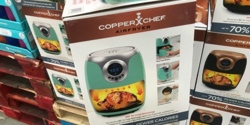 Copper Chef 2-Quart Power AirFryer Only $39.98 at Sam's Club (In-Store & Online)
