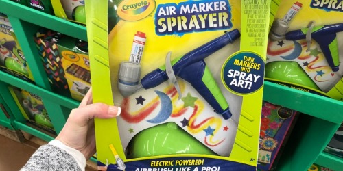 Crayola Air Marker Sprayer Only $5.99 at Walmart.com (Regularly $20)