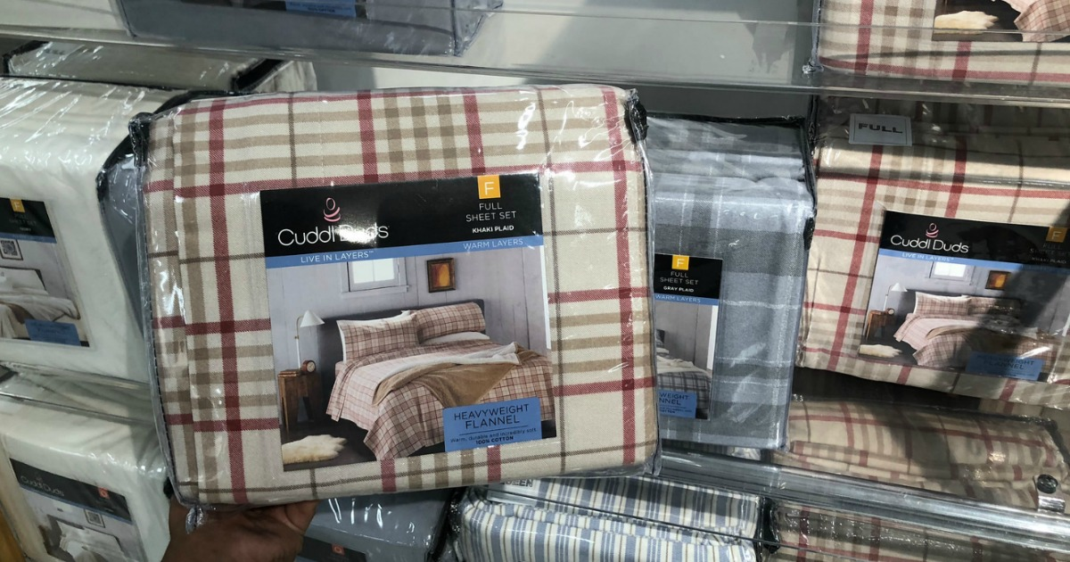 Cuddl Duds Flannel Sheet Sets As Low As 14 Each At Kohl S Regularly 50