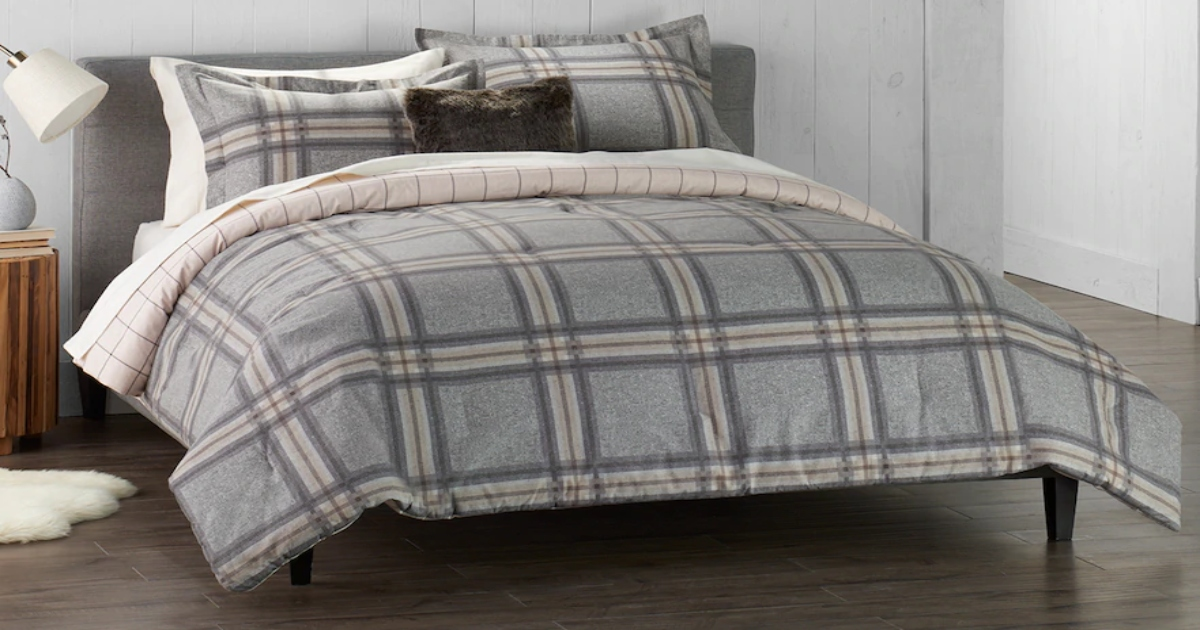 Cuddl Duds Comforter Sets As Low As 36 Shipped At Kohl S