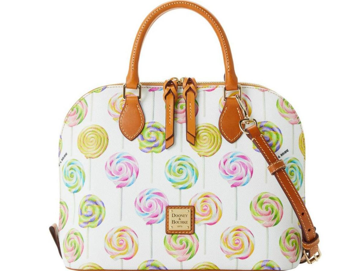 purse with lollipops on it