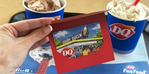 200 Win Dairy Queen Gift Cards DAILY Through June 30th (+ Try New Reese's Lovers Blizzards!)