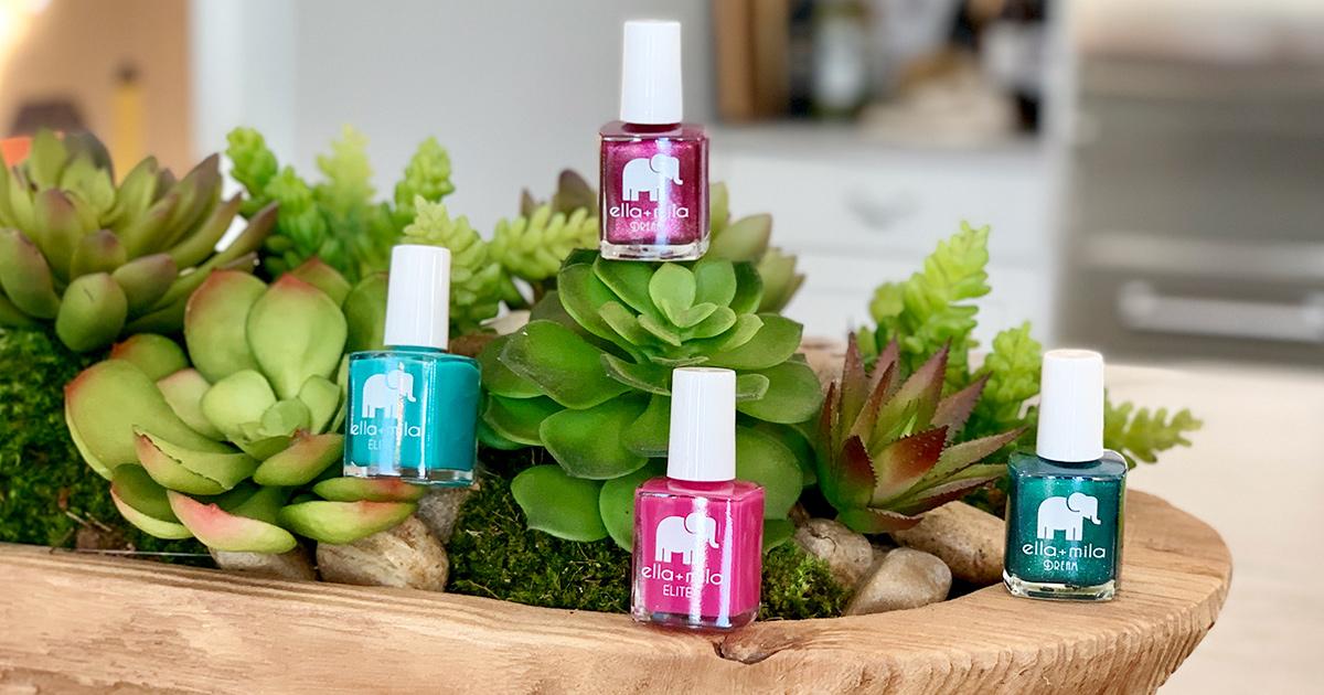 jewel tone ella+mila nail polish colors
