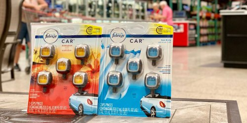 Don't Stink & Drive! Instantly Save $2 on Febreze Air Freshener Car Vent Clips at Costco