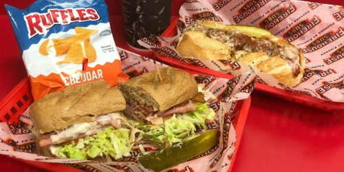 Buy One Firehouse Sub, Drink & Chips, Get One Sub FREE (June 16th Only)