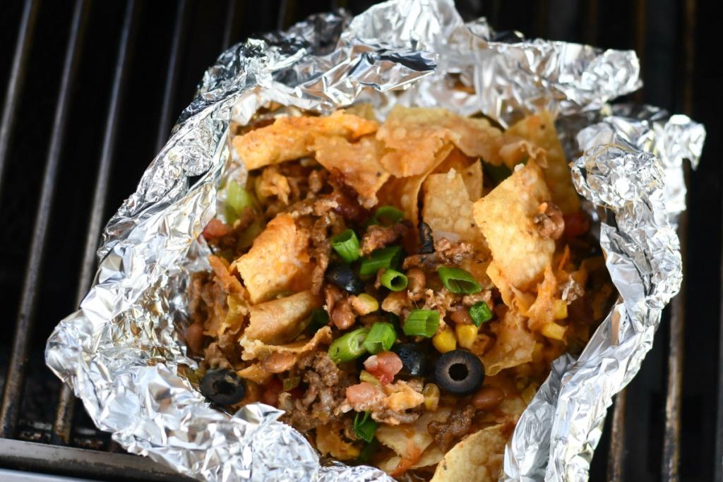 foil packet nachos