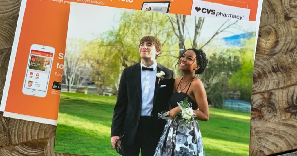 photo of boy and girl in prom apparel