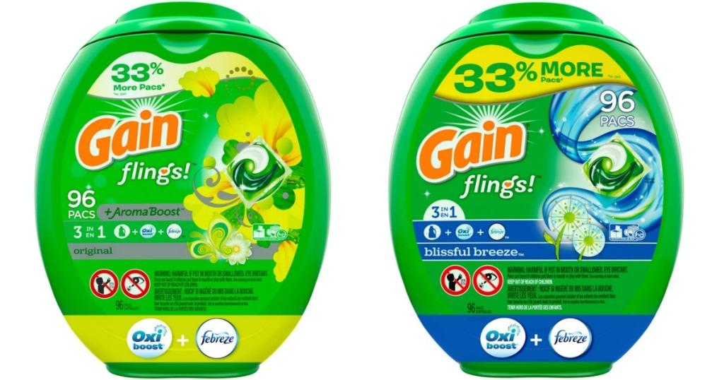gain flings aroma boost and blissful breeze