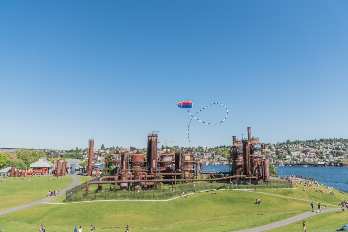 view of gas works park in seattle washington