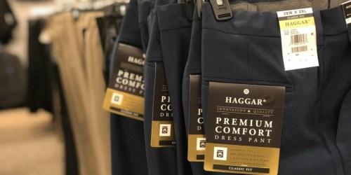 Haggar Men's Premium Khaki Pants Only $17.49 Each Shipped for Kohl's Cardholders (Regularly $55)