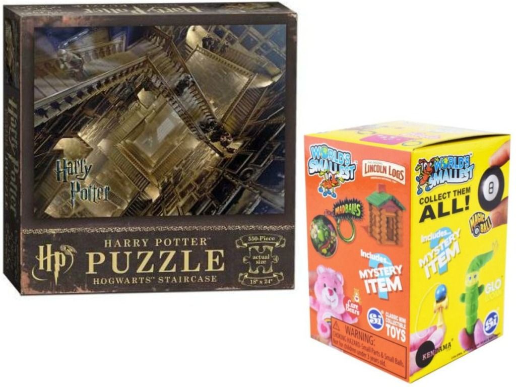 harry potter puzzle an box of toys