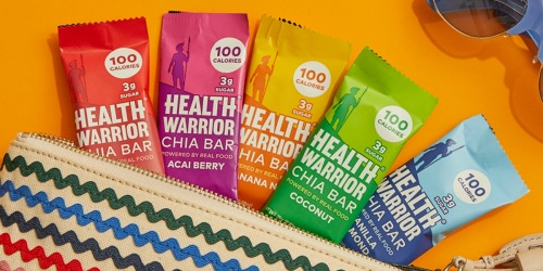 Health Warrior Chia Bars 15-Count Pack as Low as $7 Shipped at Amazon (Vegan & Gluten-Free)