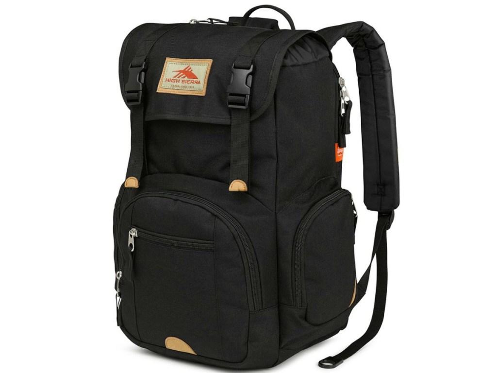 large black backpack