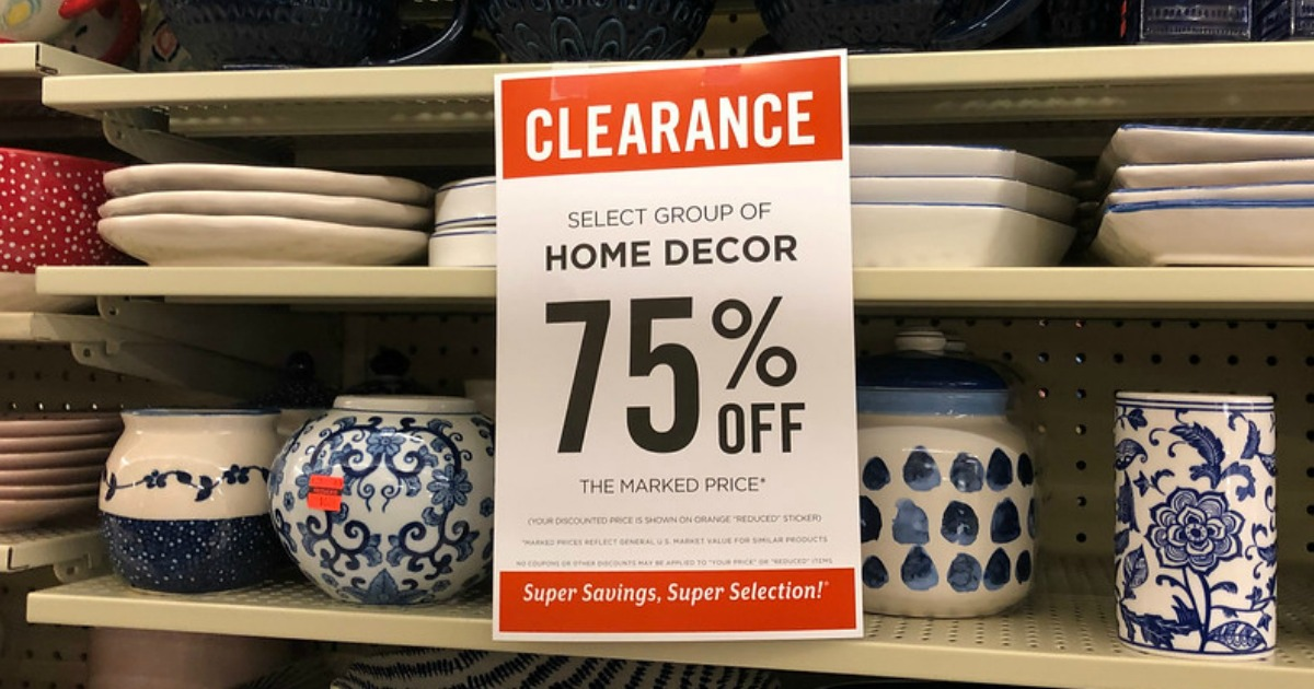 Up To 75 Off Home Clearance At Hobby Lobby