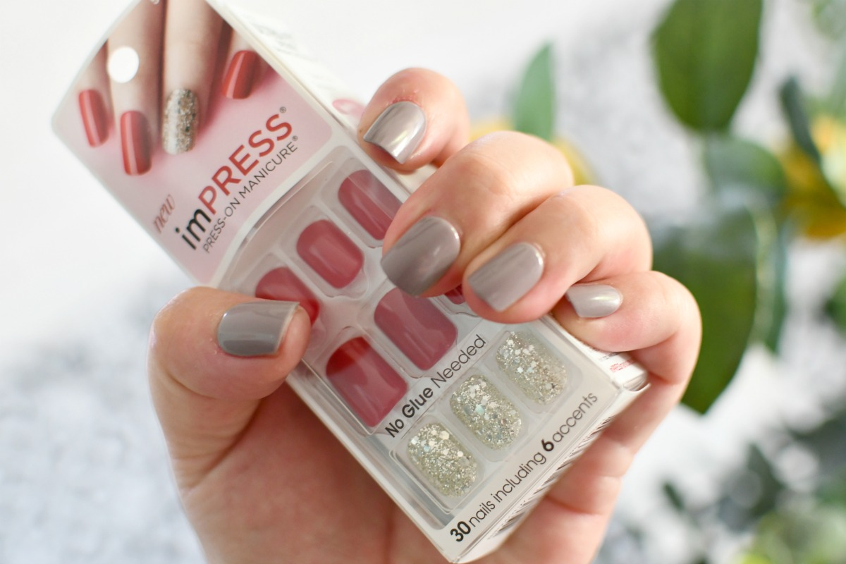 holding package of impress nails