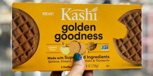 Over 50% Off Kashi Frozen Superfood Waffles After Cash Back at Target