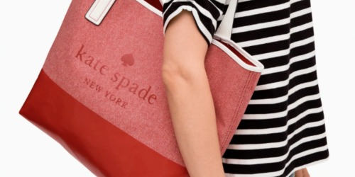 Kate Spade Triple Compartment Tote Only $79 Shipped (Regularly $279)
