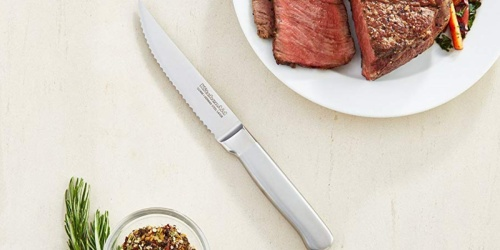KitchenAid 4-Piece Stainless Steel Steak Knife Set Only $14.99 at Macy's (Regularly $43)