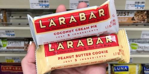 LÄRABAR Bars Only 63¢ at CVS (Starting June 16th)