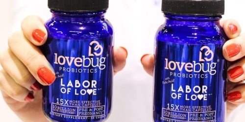 Amazon: LoveBug Pregnancy Probiotic Supplement 30-Count Only $8.95 Shipped