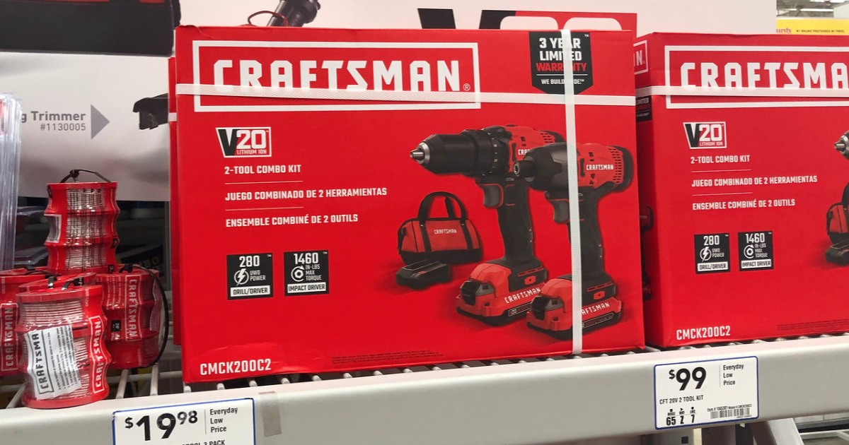 Craftsman Drill at Lowe's