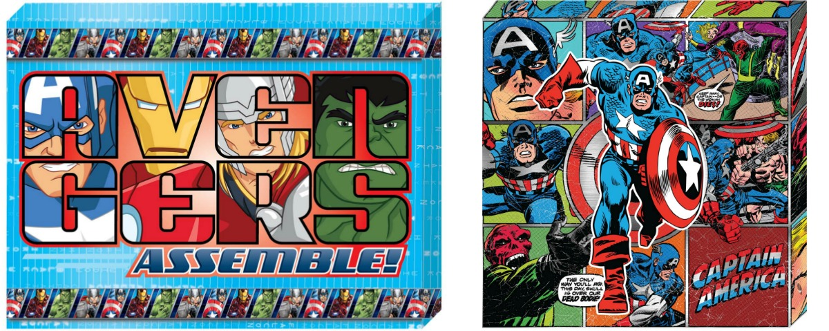 marvel canvas signs