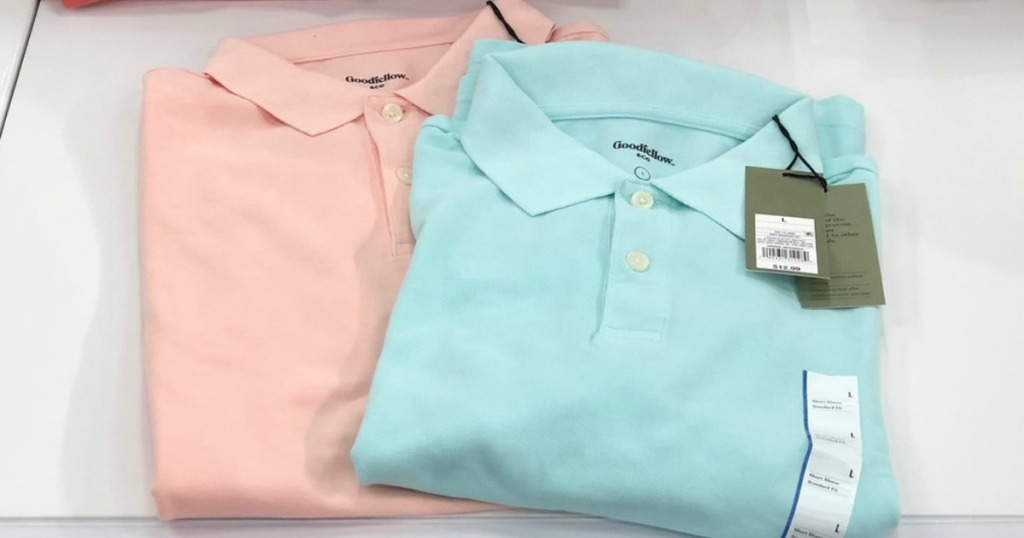 goodfellow & co. polo shirts at target