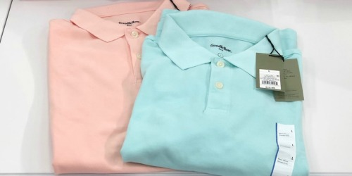 Goodfellow & Co. Men's Polos Only $5 at Target.com (Includes Big & Tall Sizes)
