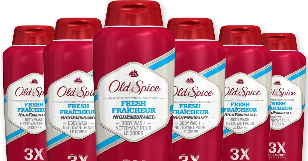 six old spice fresh fraicheur body wash