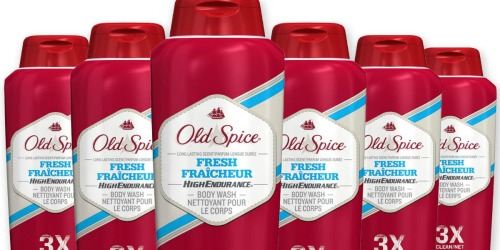 Old Spice Body Wash 18oz Bottles 6-Pack Just $14.30 at Amazon (Only $2.38 Each) + More