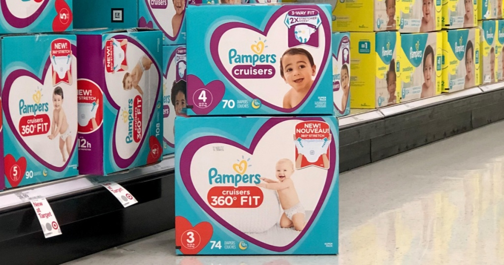 pampers cruisers diapers at target